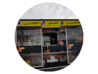 Logo Hannes Foodtruck Westheim - Crispy Burger BBQ Burger,Wild-Burger&u.v