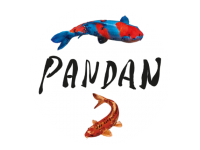 Logo Pandan - Curry, Satee & Reis (auch vegan)