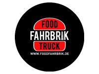 Logo Food Fahrbrik - Burger,  Pork & Beef, Bacon Bomb, Fries