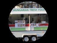 Logo Hungarian Food Truck