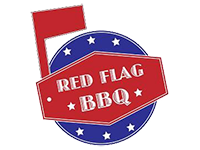 Logo Red Flag BBQ - BBQ-Sandwiches & more