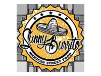 Logo Sunny Burrito - Leckere handmade Burritos. Auch vegetarisch und vegan.
