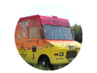 Logo Foodtruck T-ICY Eistee