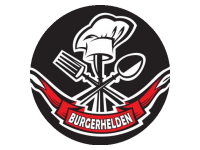 Logo Foodtruck Burgerhelden