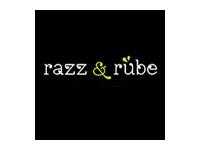 Logo razz & rübe - Süß-/Kartoffel-Spaghetti mit Topping