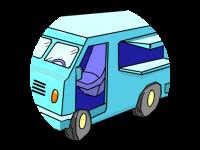Logo asia food truck