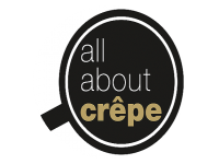 Logo all about crepe