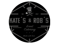 Logo Kate´s and Rob´s Food Truck | Event Catering - Burger, Hot Dogs, Fingerfood, Fries usw.