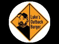 Logo Luke´s Outback Burger - Burger, Tater Tots (Mini-Kroketten)
