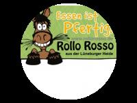 Logo Rollo Rosso - Pferdekrakauer, Rossbratwurst, Bockwurst