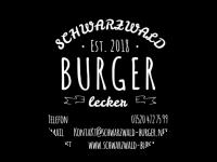 Logo Schwarzwald-Burger - Burger, Belgische Pommes, Gemüsepfannen