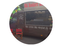 Logo Foodtruck Old Rockers Kitchen