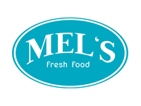 Logo Mel´s fresh food - Lieblingssalate & feel good food