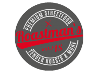 Logo Foodtruck Roastman`s