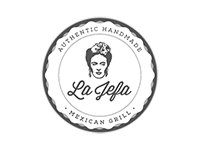 Logo La Jefa Mexican Grill - Burritos, Tacos, Quesadillas & more