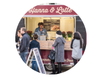 Logo Foodtruck Hanna & Lotte