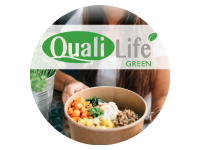 Logo QualiLife Green - Pita-Fladen, Bowls, Salate, Suppen