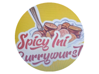 Logo Spicy Ini Currywurst