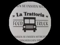 Logo La Trattoria - Laboratorio Sapori - Pizza,  Pasta und Burger