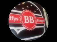 Logo Baffys Burger