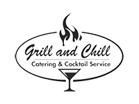 Logo Grill and Chill - Grill-Menü, Live-Cooking, Burger, Tapas