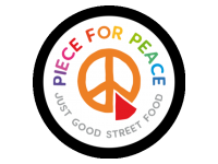 Logo PIECE FOR PEACE - Burger, Tacos, Chilis, Curries, Risottos