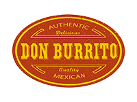 Logo Don Burrito - Mexican Food
