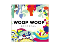 Logo Foodtruck Woop Woop Icecream