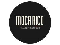 Logo Mocarico - Caffe - Panini - Arancini - dolci