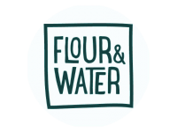 Logo Foodtruck Flour & Water