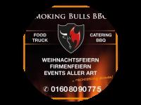 Logo Smoking Bulls BBQ - Verschiedene Burger