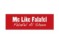 Logo Me like Falafel