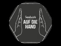 Logo Foodtruck Sandwiches - Auf die Hand