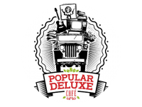 Logo Foodtruck Popular Deluxe Cafe