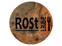 Logo Rostlaube - Pulled Beef & Pork and Vegan Burger