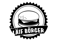 Logo Foodtruck Läif Börger