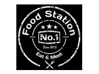 Logo Foodtruck Food Station No.1