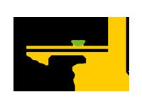 Logo Foodtruck Burger Biene