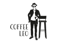 Logo Foodtruck Coffee Leo