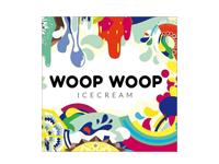 Logo Foodtruck Woop Woop Icecream