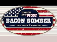 Logo Foodtruck Bacon Bomber