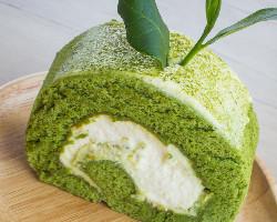 كيك شاي اخضر