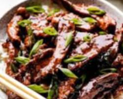 لحم بقري منغولي