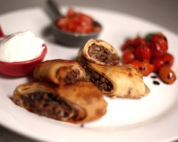 Crepes Stuffed with Beef blintchiki