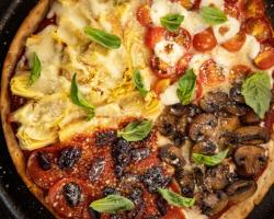 بيتزا الفصول الأربعة