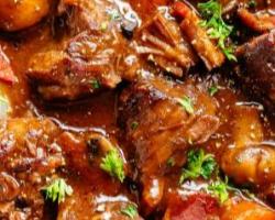 صينية لحم و خضروات