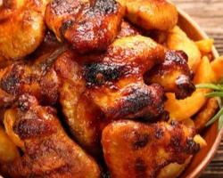 صينية أجنحة دجاج