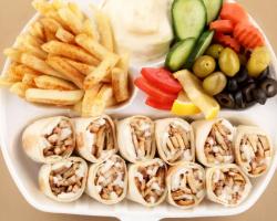 وجبة شاورما دوبل