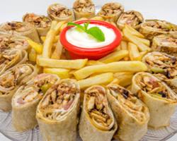 وجبة شاورما العزيمة