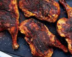 نصف دجاجة تركية